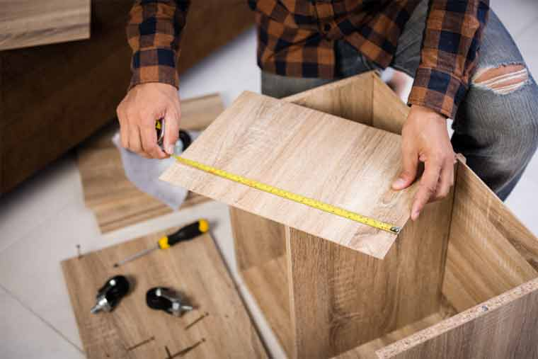 How to Secure Furniture to Wall Without Holes