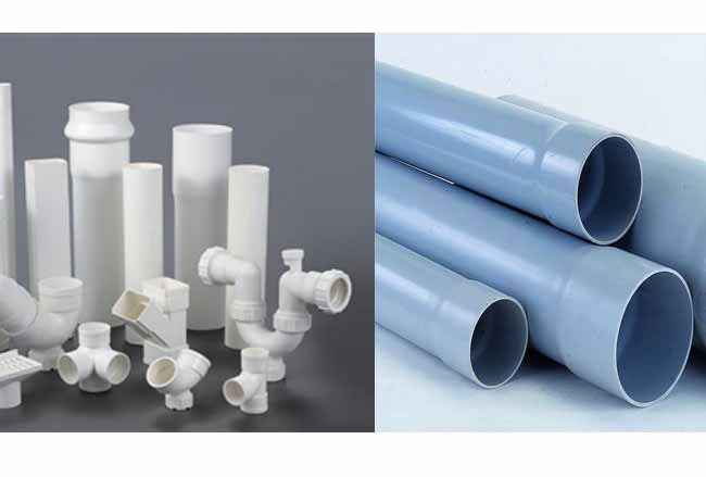 Which one is more rigid, PVC pipe or ABS pipe
