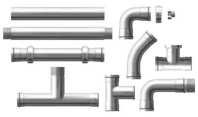 Equipment required for existing gas lines