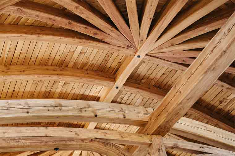 How to Frame a Curved Roof