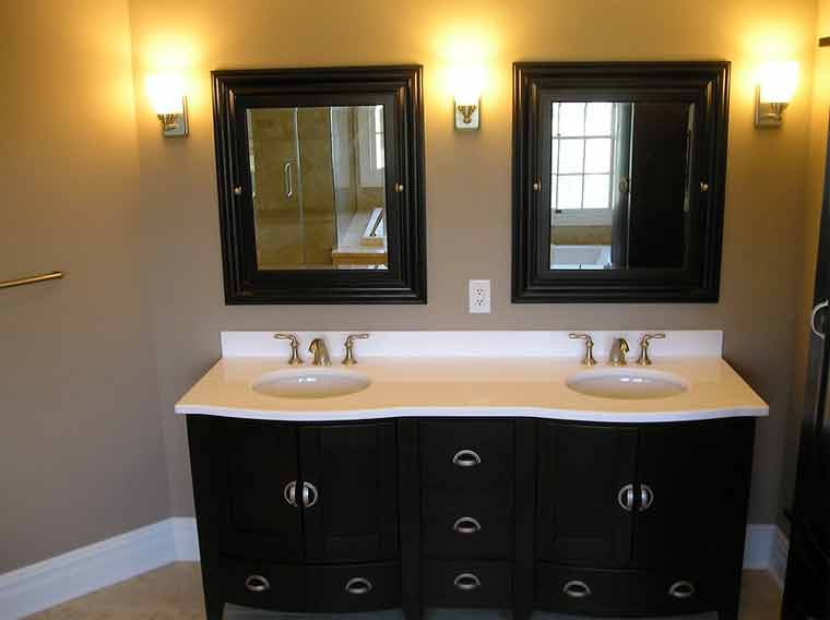 How to Rough in a Double Sink Vanity