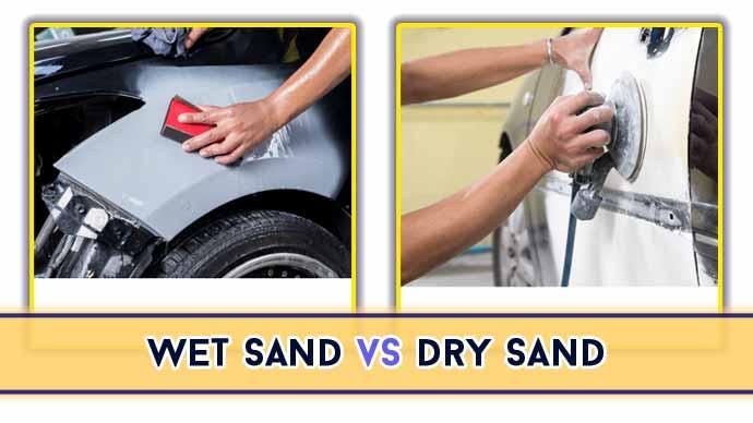 Wet Sand vs Dry Sand