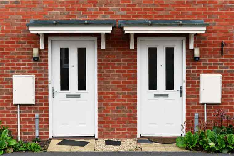 Why Do Old Houses Have Two Front Doors