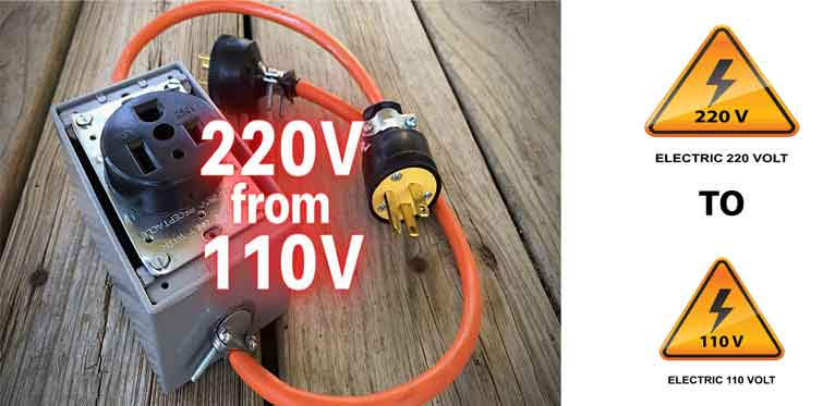 How to Split 220 Volts in 110 Volts