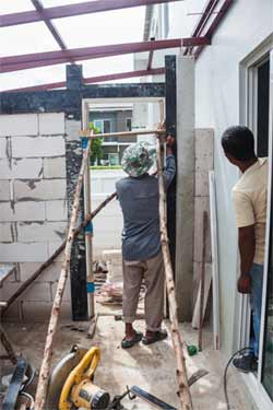 Frequently Asked Question How to build an exterior door jamb
