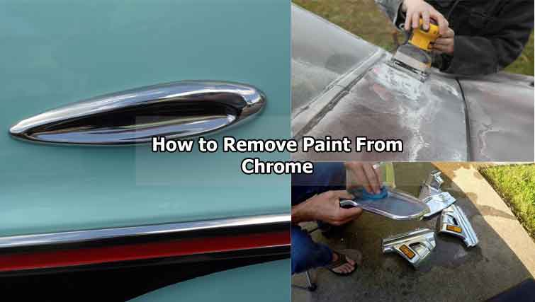 How to Remove Paint From Chrome