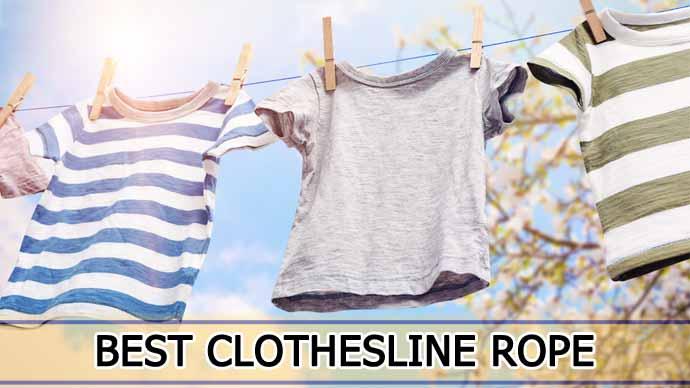 Best Clothesline Rope Reviews in 2021: Top 9 Picks