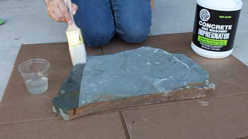 Ease of Cleaning Up Spills And Messes After Applying Stone Sealer