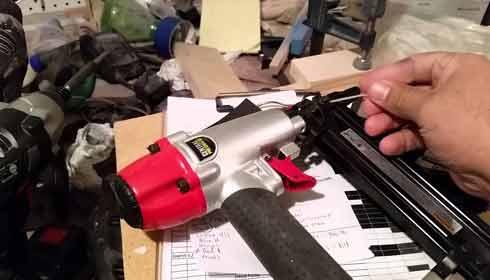Nail Guns Depth Setting