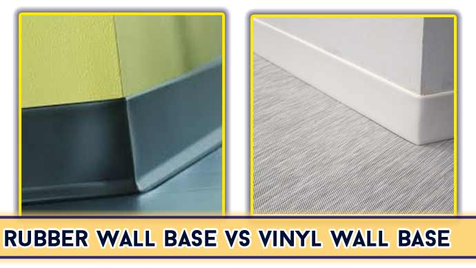 Rubber VS Vinyl Wall Base: Which is Better?