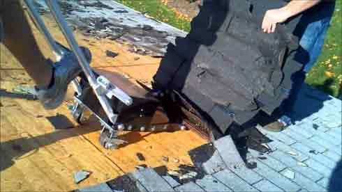 shingle removal shovel