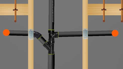 How to Install a Sanitary Tee And Wye Drain
