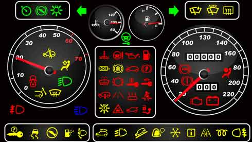 The Types of Cooling System Warning Lights