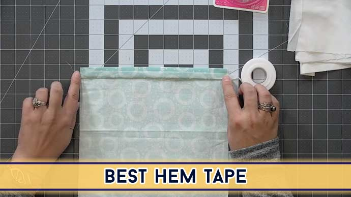 Best Hem Tape in 2021   Top 10 Picks by an Expert