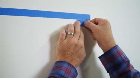lightweight decorations tape